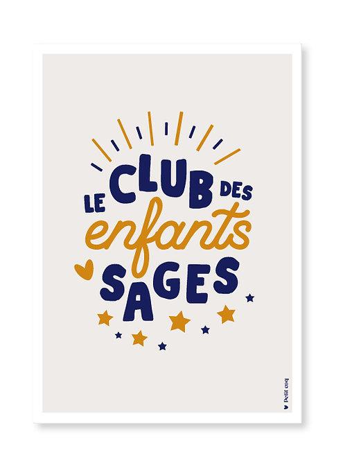 Affiche Club des enfants sages