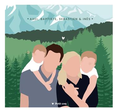 Famille montagne