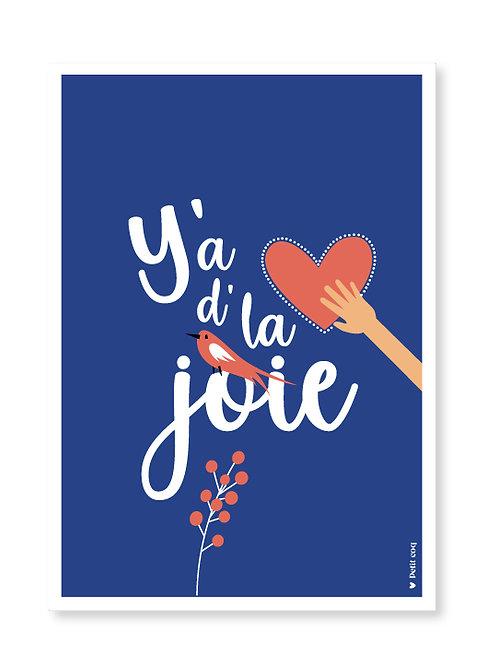 Affiche Y'a d'la joie !