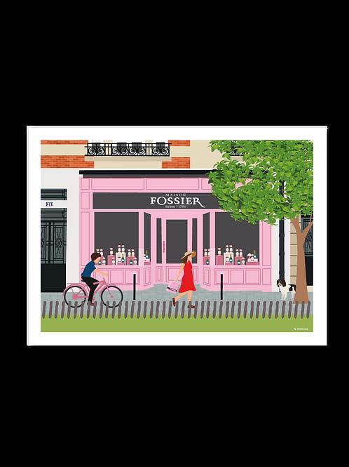 Affiche 30x40 Maison Fossier