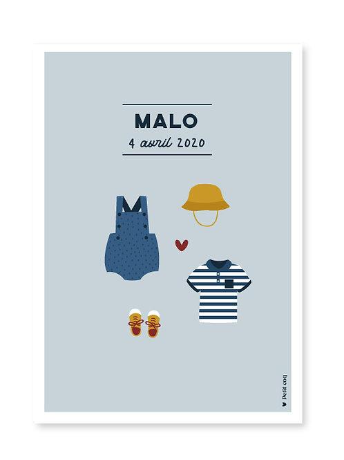 Affiche dressing Malo