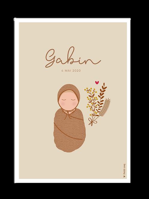 Affiche Jolis poupons - Gabin