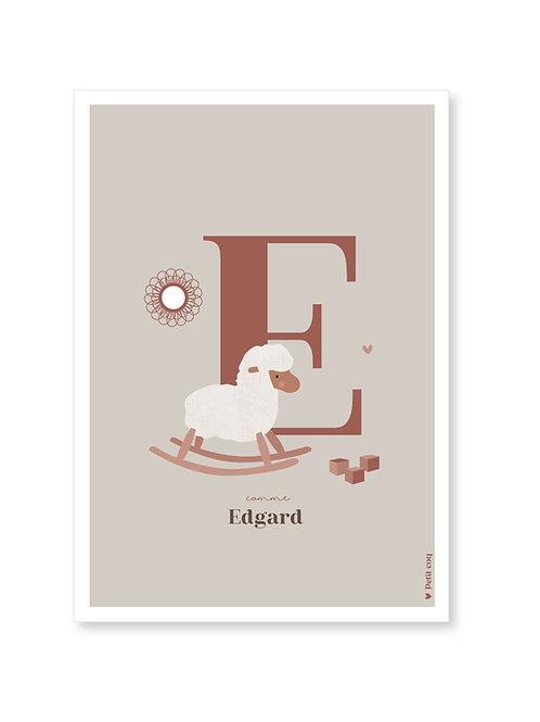 Affiche Initiale Mouton