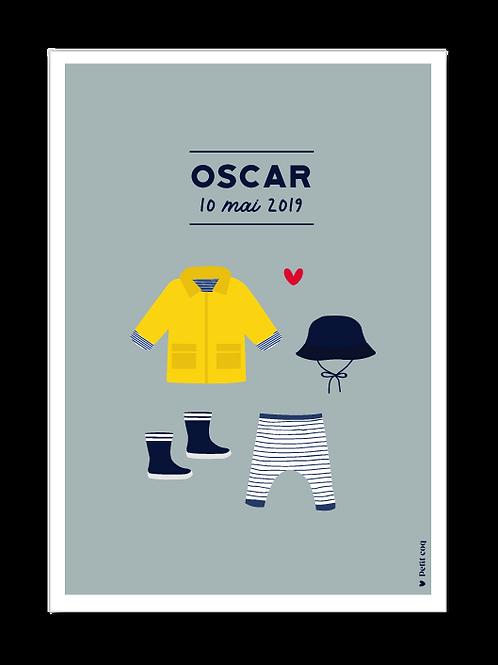 Affiche dressing Oscar