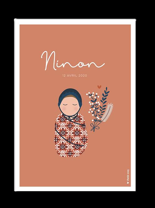 Affiche Jolis poupons - Ninon