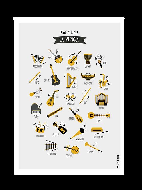 Affiche Imagier musical