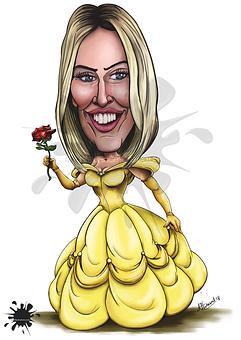 A3 Caricature iwantcaricature.co.uk