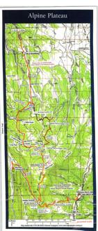 Alpine Plateau Trail Map