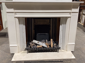 Grosvenor Mantle - Extra wide with Cow P