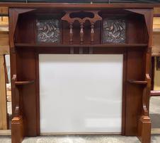 Federation Ornate Copper Panel Mantle