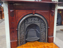 5. Victorian Arched Mantle
