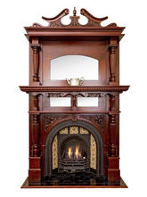7. Victorian Arched Double Mantle