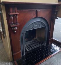 45. Victorian Decorative Mantle