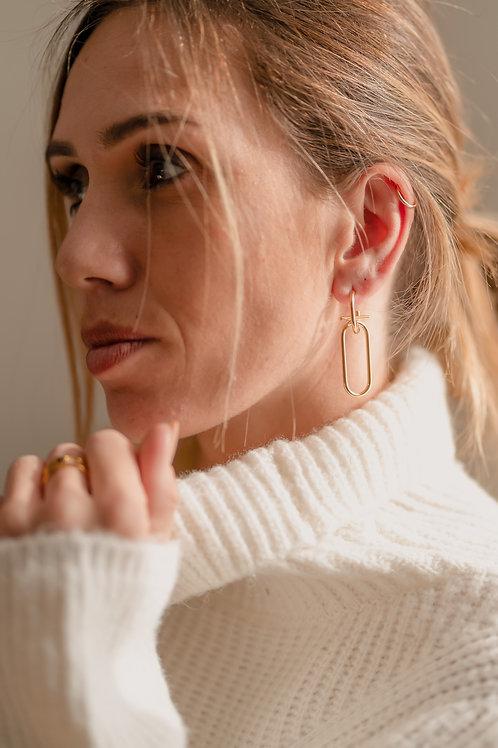 Boucle d'oreille Simone