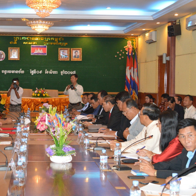 MOU with Banteay Mincheay Province