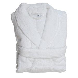 חלוק מגבת לבן