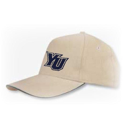 כובע כותנה מוברש 5 פנלים