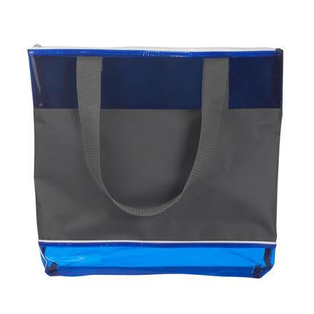 תיק שקוף כחול