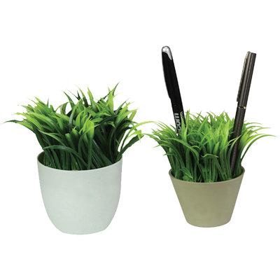 עציץ דשא מעמד לעטים