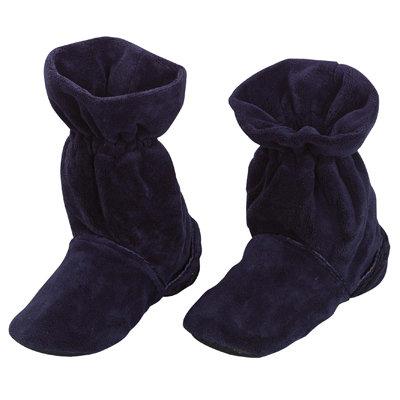 נעלי פליז פינוק עם כרית ג'ל לחימום