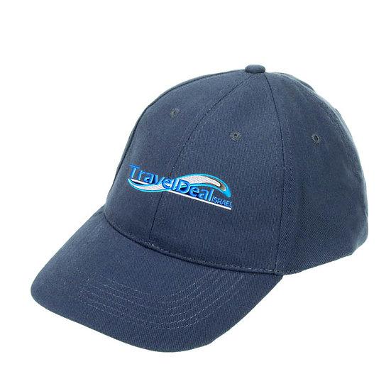 כובע כותנה מוברש 6 פנלים