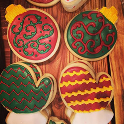 Holiday Mittens and Ornaments