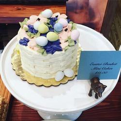 Mini Easter Basket Cake