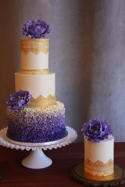 Purple and Gold - Detail