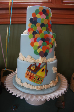 Up inspired baby shower