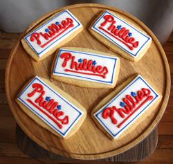 Phillies cookies