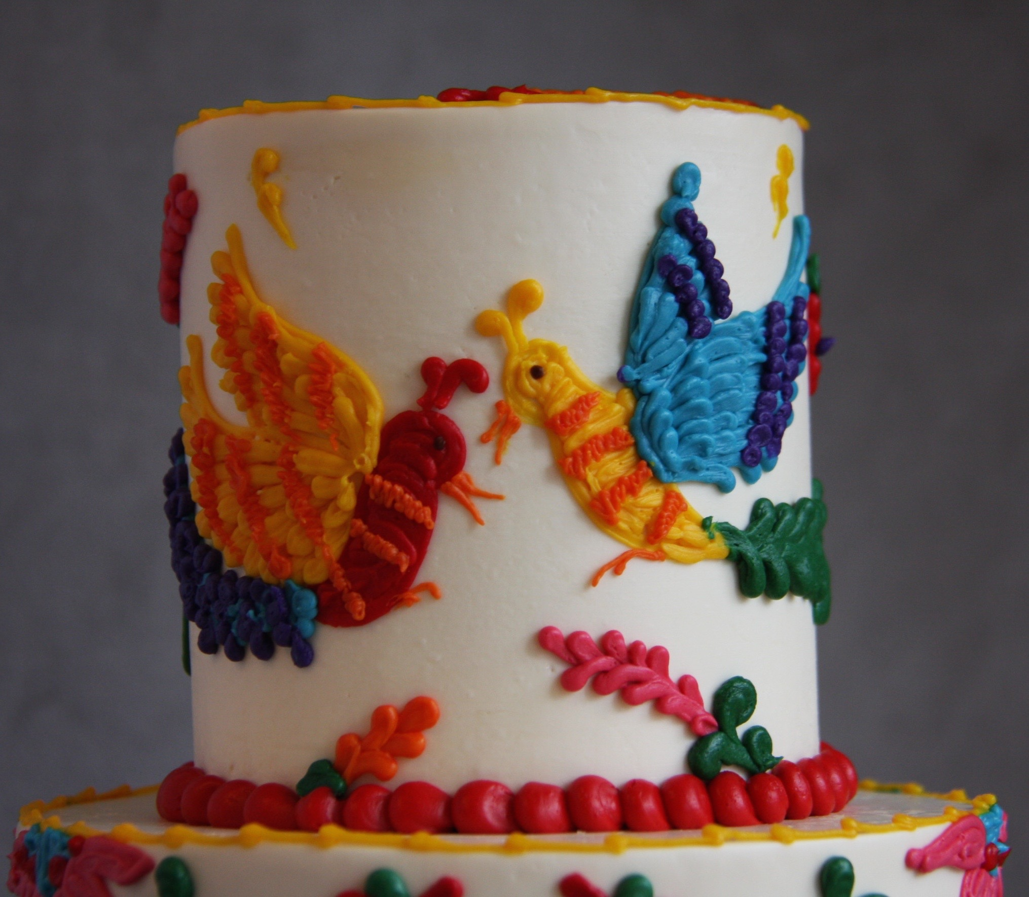 Buttercream Birds