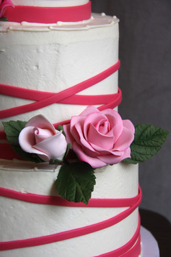 Ribbons and Roses - details