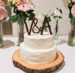 Textured Buttercream Cake for Two