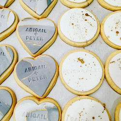 #latergram of some lovely engagement cookies we made back at the beginning of March