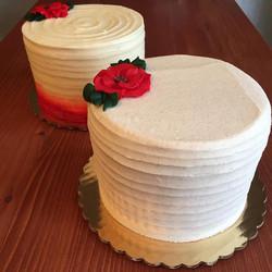 Brown Butter Christmas Cake