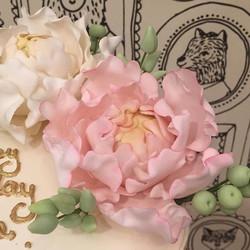 Pretty Peonies - Detail