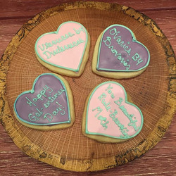 Don't forget about GAL-entines day is this Monday! Since we are closed Sundays and Mondays, you're g