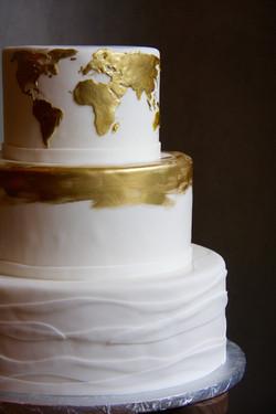 Golden Globe Cake