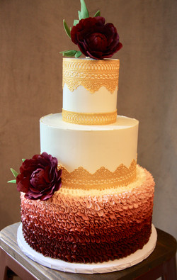 Wine and Gold Lace