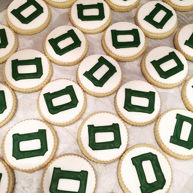 The big green Dartmouth cookies are back! Did you know my mom was in the vanguard class of women at