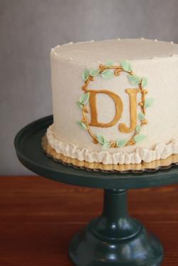 Petite Monogram Cake