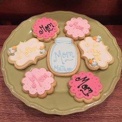 Oh hey guys, Mother's Day is TOMORROW!! Stop in today for some adorable cookies mom will love