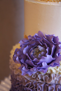 Purple and Gold Detail