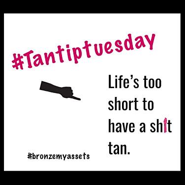 Tan Tip Tuesday
