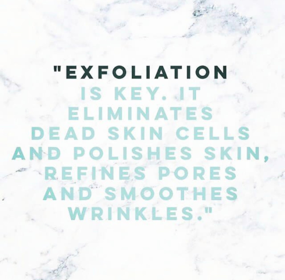 Be sure to always exfoliate before a fresh spray tan!