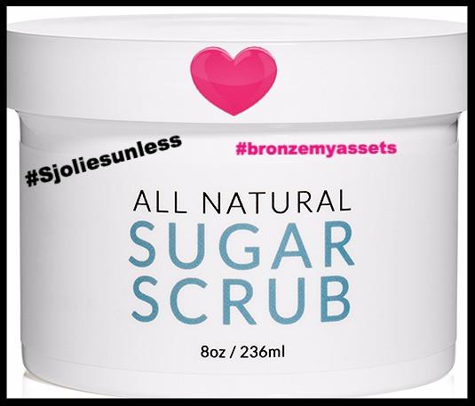 Sjolie All Natural Sugar Scrub
