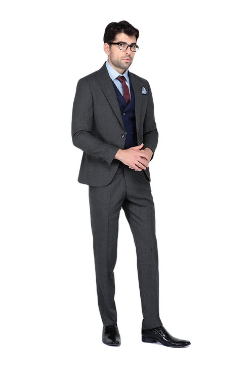 Мужской костюм тройка JP 001