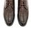 "Thumbnail: Мужские ботинки ""Оксфорды"" темно-коричневого цвета"