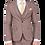 Thumbnail: Мужской костюм тройка бежевого цвета JP002