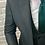 Thumbnail: Мужской костюм тройка серо зеленого цвета в мелкую клетку